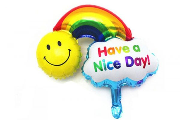 Have a nice day helium ballon